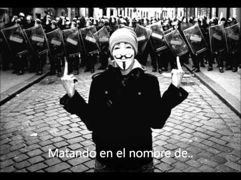 Rage against the machine - killing in the name (español)