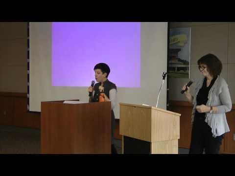 Jasmin Singer and Mariann Sullivan, Worcester VegFest 2012
