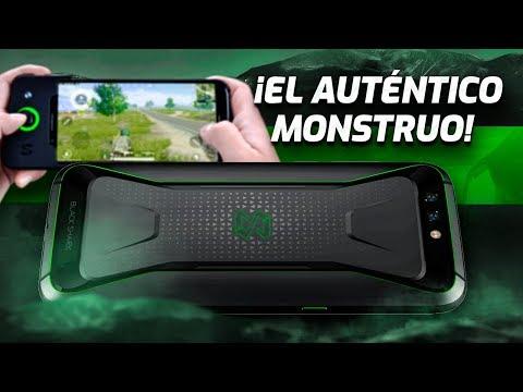Xiaomi BLACK SHARK ¡EL AUTÉNTICO MONSTRUO!