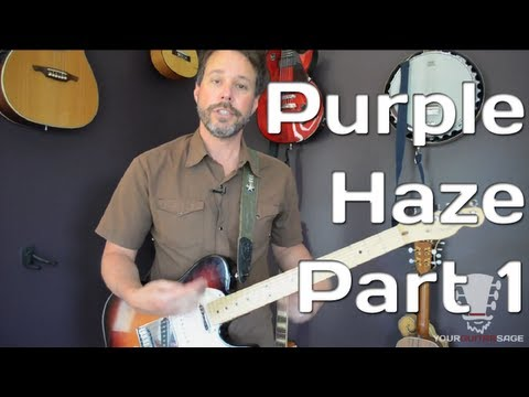 How To Play Purple Haze By Jimi Hendrix - Guitar Lesson - Part 1