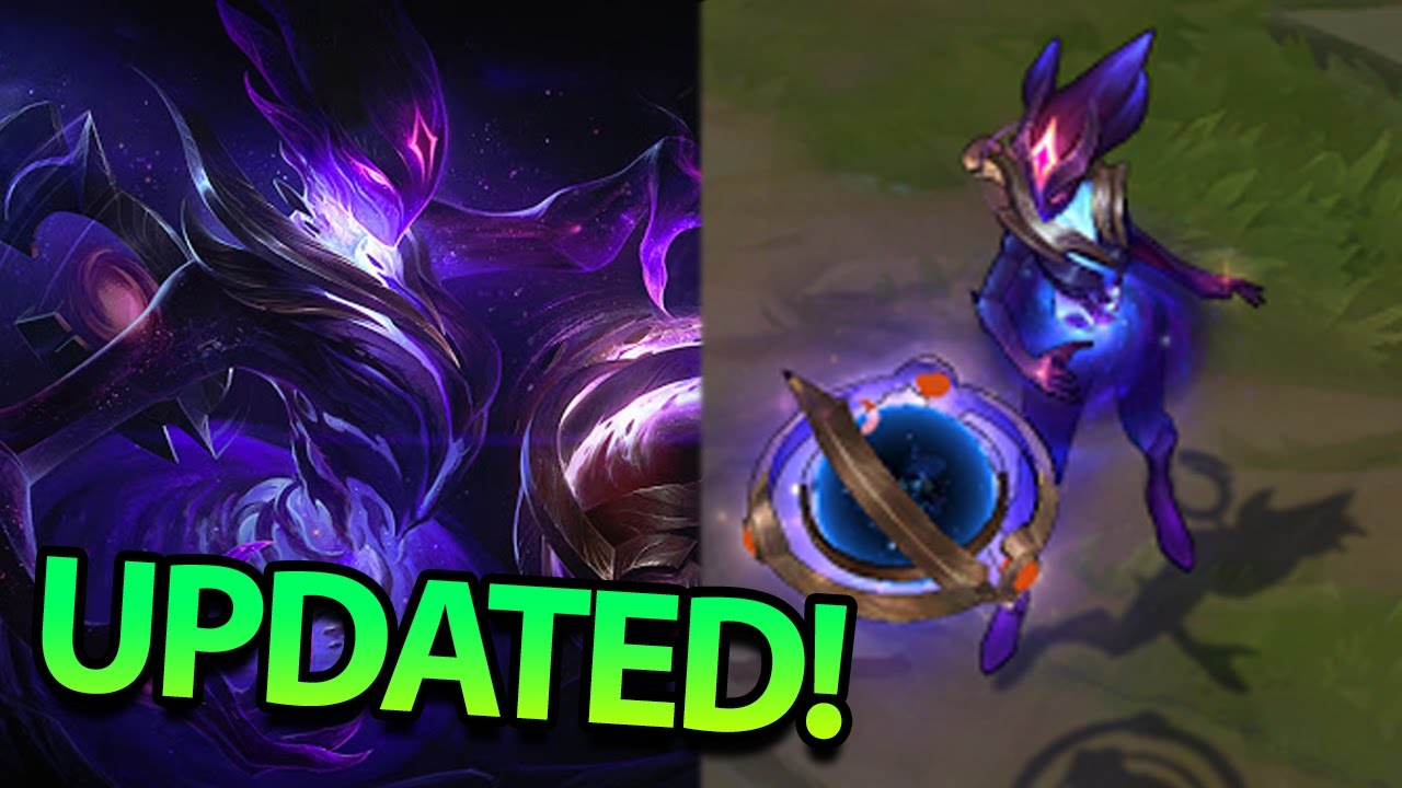 New Updated Dark Star Orianna Skin Is Actually Incredible Pbe