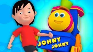 Джонни Джонни Да Папа   Детский Стишок   Bob Train   Johny Johny Yes Papa