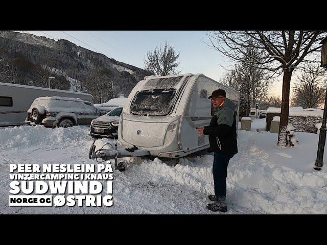 Nye klip - Peer Neslein tester sin Knaus i Norge og Østrig (-15 graders frost)