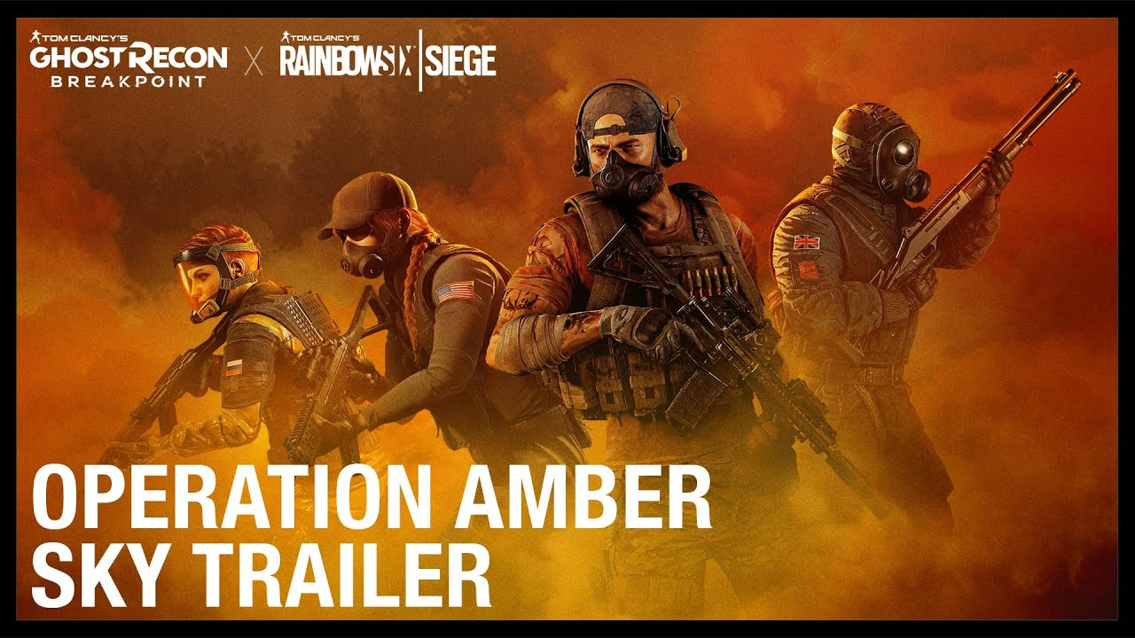 Tom Clancy's Ghost Recon Breakpoint X Rainbow Six Siege: Operation Amber Sky Trailer | Ubisoft