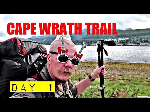 The Cape Wrath Trail: Day 1