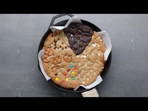 Multi-Flavor Skillet Cookie