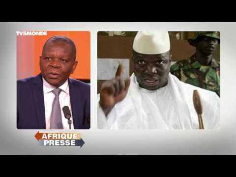 INTÉGRALE AFRIQUE PRESSE / Gambie, fin de règne et exil de Yahya Jammeh