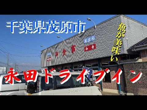 千葉県茂原市 「永田ドライブイン」 まぐろおろし定食 ヘルシーで胃に優しい 12/12撮影 ふむグルメ