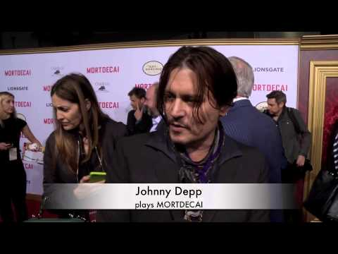 Mortdecai Red Carpet Premiere Part 1Johnny Depp And Gwyneth Paltrow And Ewan McGregor