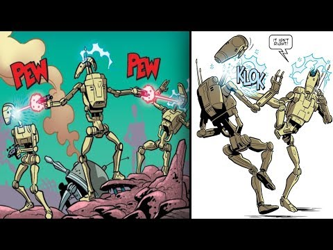 The Battle Droid that Betrayed the Separatists [Canon] - Star Wars Explained