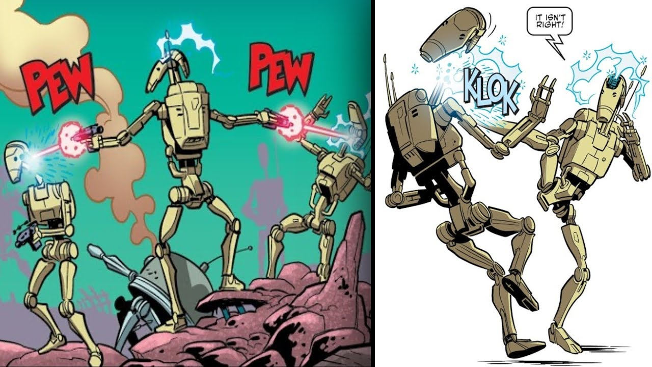 The Battle Droid that Betrayed the Separatists [Canon] - Star Wars ...