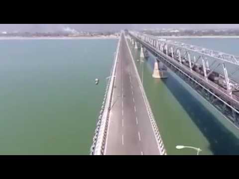 Union Minister @Nitin Gadkari inaugurates new #Saraighat Bridge in #Guwahati