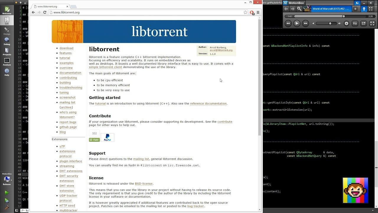 Libtorrent Python