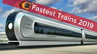 Top 10 Fastest High Speed Trains in the World 2019