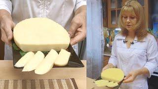 Домашний сыр твердый вкусно полезно и просто