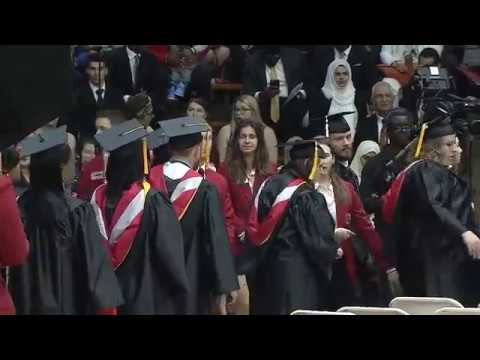 University of Indianapolis 2017 Commencement — Afternoon Ceremony