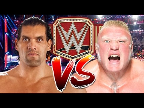 WWE RAW 2K17 - The Great Khali vs Brock Lesnar - WWE Universal Championship Match thumbnail