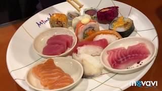 193. Японский ресторан буфет» Минадо», небольшие покупки, готовлю рассольник и ужин для семьи.