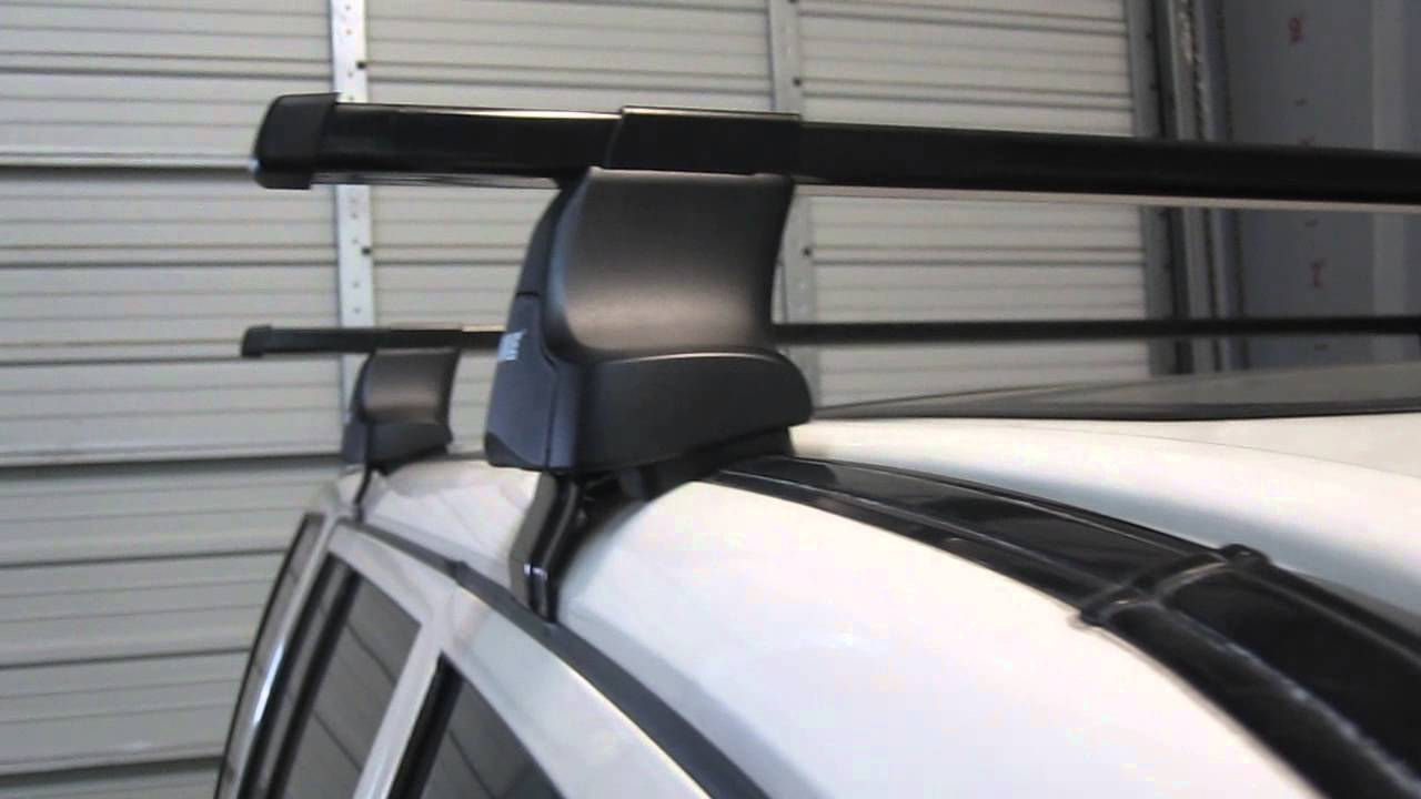 1992 2002 isuzu trooper with thule 480 traverse square bar roof rack discontinued