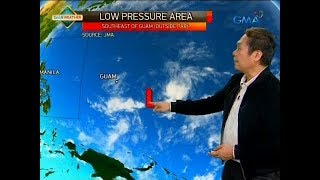 24 Oras: Weather update as of 7:38 p.m. (May 7, 2018)