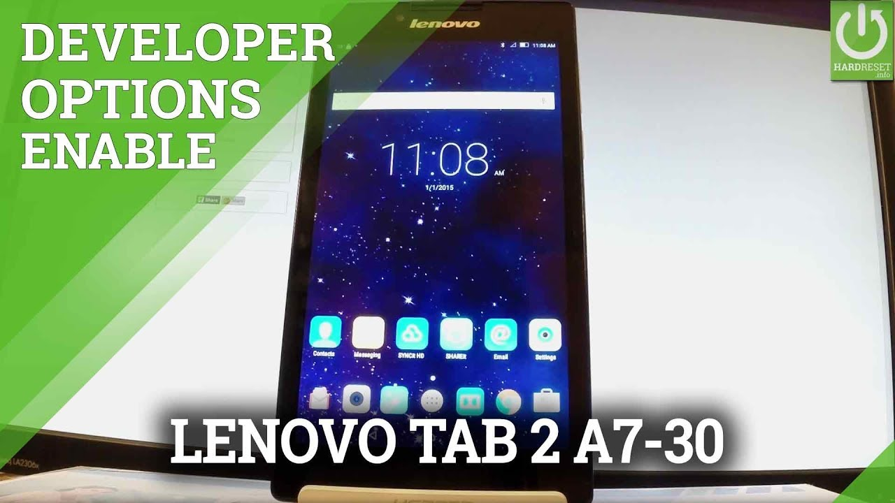 Lenovo Tab 2 A7-30 APN settings & network compatibility in