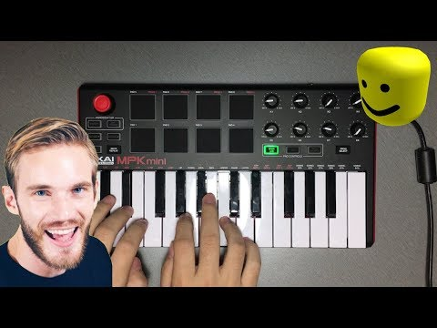 I Played Pewdiepie Congratulations With The Roblox Oof Death Sound