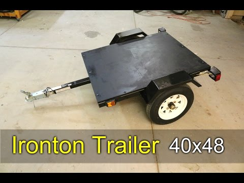 Ironton Utility Trailer - How To Assemble