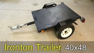 Ironton Utility Trailer - How To Assemble