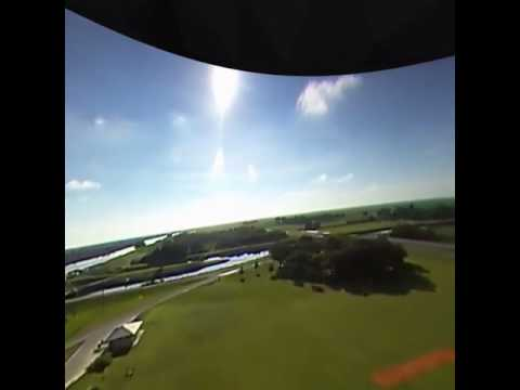 Watching 35km altitude in GearVR