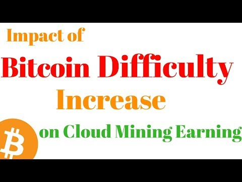 Impact Of Bitcoin Difficulty Increase On Your Cloud Mining Earning? - Hashflare Cloud Mining