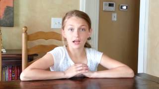 "Grace Miller - Audition/screen test - ""School of Rock - The Musical"""