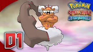 Pokémon Omega Ruby and Alpha Sapphire Walkthrough (After Game) - Part 1: TORNADUS & LANDORUS