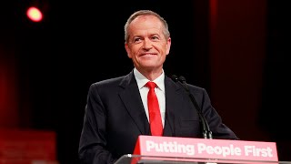 Shorten invokes Whitlam nostalgia in rally call to party faithful