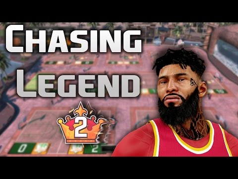NBA 2K16 MyPARK - Chasing Legend 2 Stream #32 with JReign KingShawnn