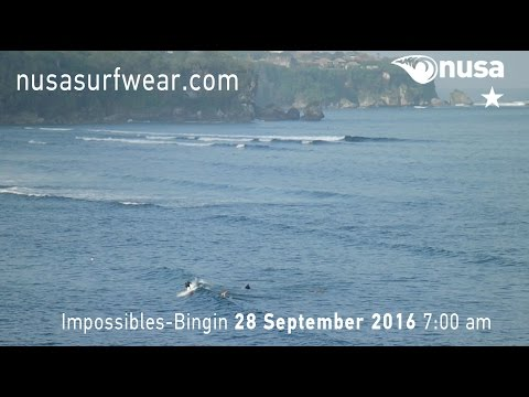 28-09-2016 /✰ / NUSA's Daily Surf Video Report from the Bukit, Bali.
