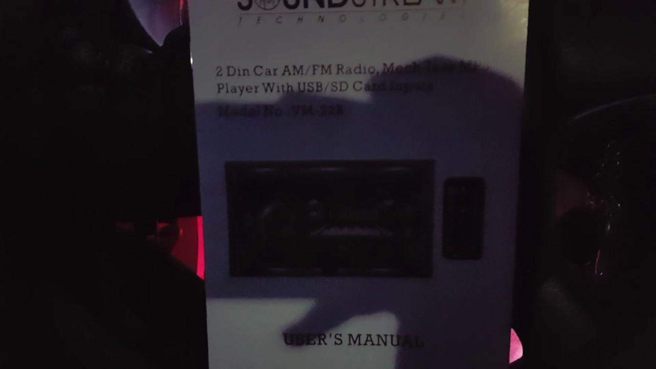 Won't turn on? Soundstream aftermarket radio fix!