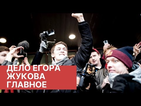 Приговор Егору Жукову. Главное. Речь Егора Жукова у зала суда. Видео