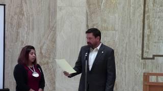Rock Your Mocs 2017 - Santa Fe, New Mexico State Capitol -Mayor Javier Gonzalez