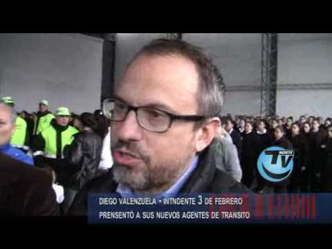 Diego Valenzuela Intendente 3 de Febrero