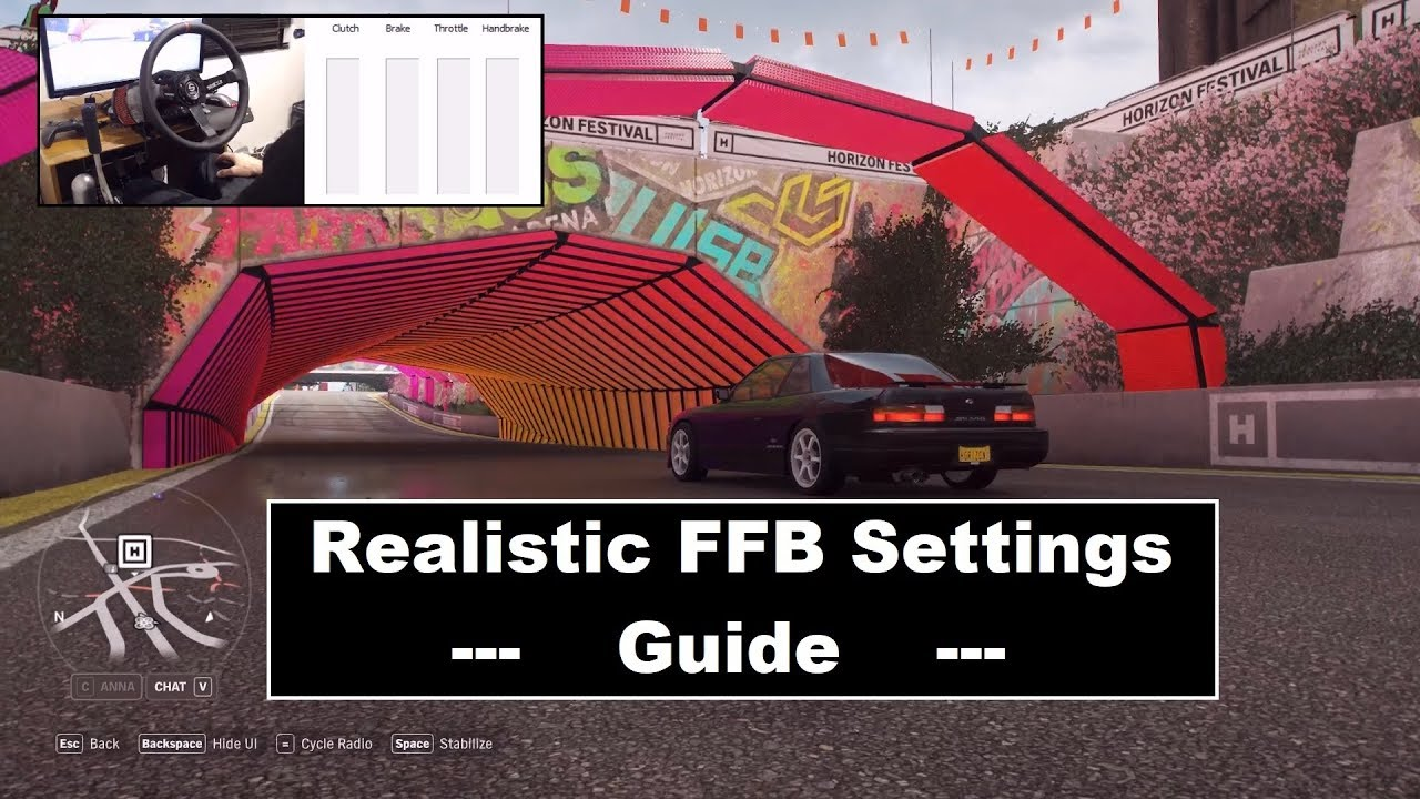 Download Forza Horizon 4 Realistic FFB setup guide