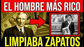 EL HOMBRE más RICO del MUNDO limpiaba ZAPATOS de PEQUEÑO!!!! No hay excusas posibles!!!