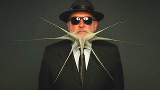 Самые странные бороды и усы в мире