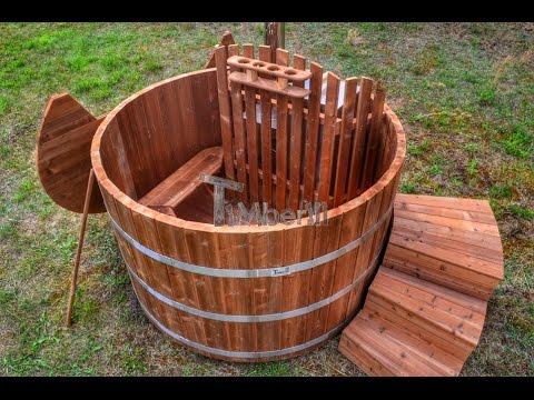 Legno thermo vasca idromassaggio modelli base timberin - Tinozza da bagno ...