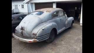 Chevrolet Fleetline Aerosedan 1947 restoration