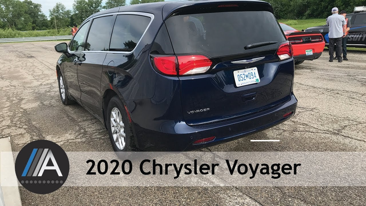 2020 Chrysler Voyager Fast Facts Youtube