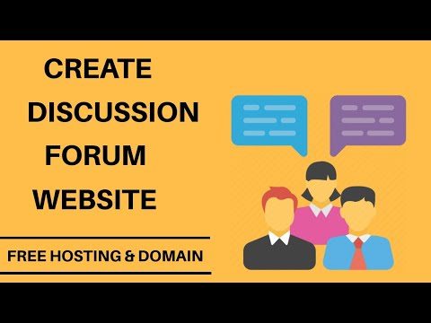 How To Create Discussion Forum Website With Free Hosting    Make Money To Forum Site