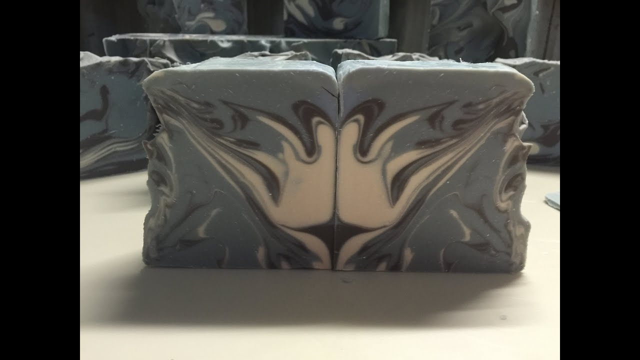 Butterfly wings, Lovable, cold process soap making