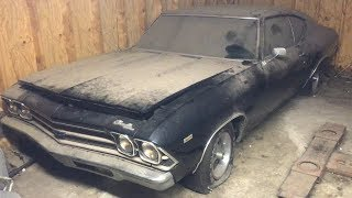 1969 COPO 427 Chevelle BARN FIND JUST DISCOVERED!!!