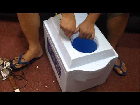 DIY Portable Car Air Cooler
