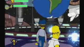 The Simpsons Game-  Stage 2: Bartman Begin( part 2) ps2